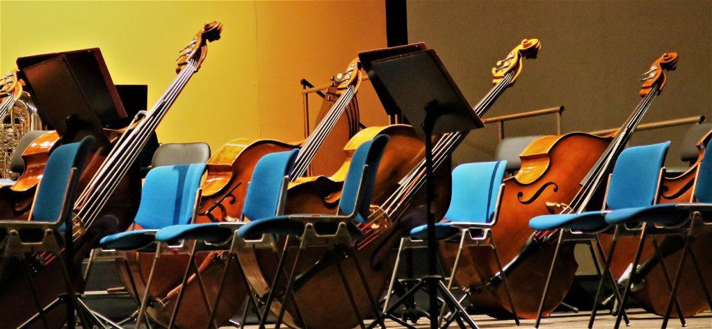 Bild Kontrabass Orchester