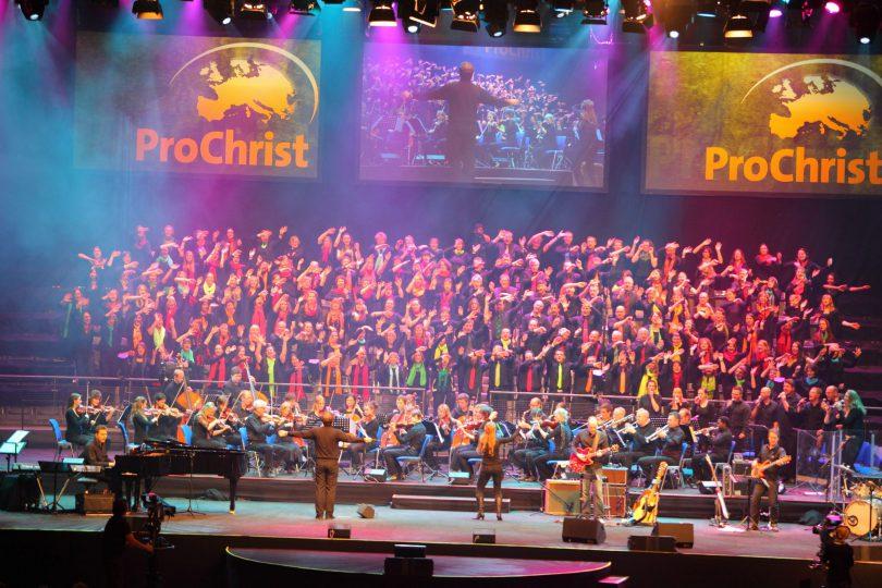 ... bei ProChrist 2013 - Arena Stuttgart