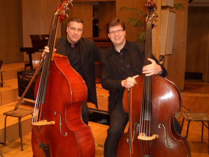 Mit Stephan Kleuver (Sächsische Bläserphilharmonie)