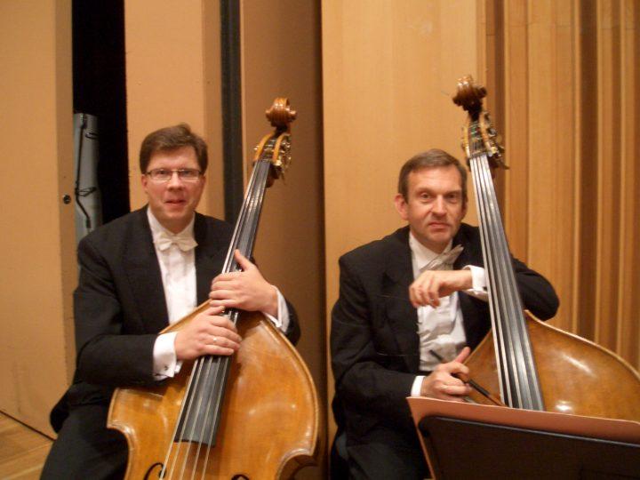Beim Göttinger Symphonie Orchester