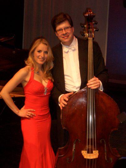 Bei der Chursächsischen Philharmonie mit Stefanie Hertel