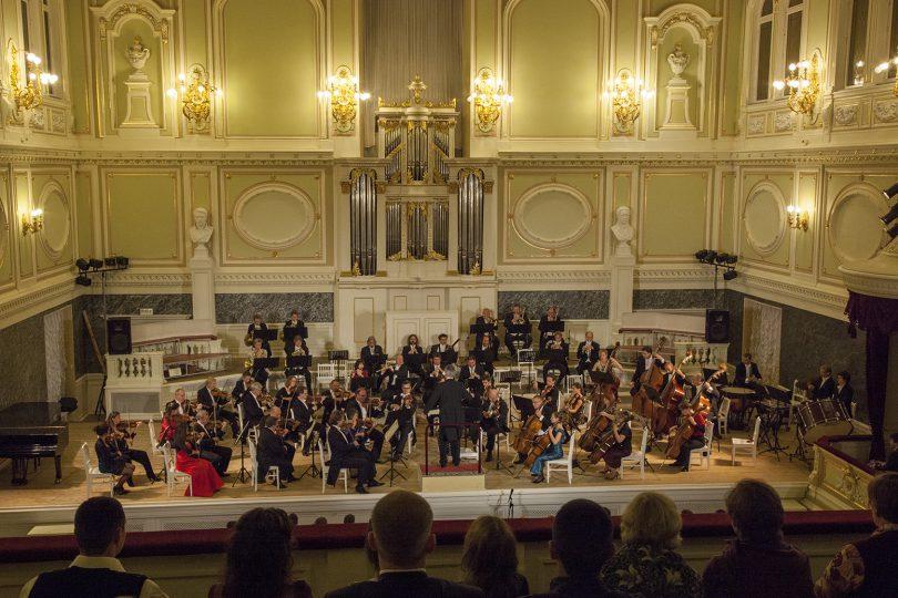 ... bei den Thüringer Symphonikern - Konzertreise St. Petersburg