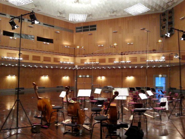 ... CD-Aufnahmen beim Göttinger Symphonie Orchester
