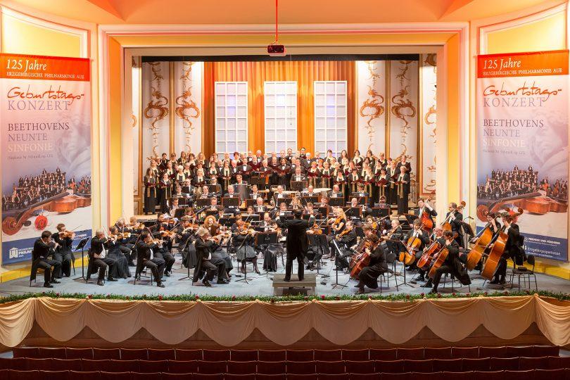 ... bei der Erzgebirgischen Philharmonie Aue -125Jahre Festkonzert