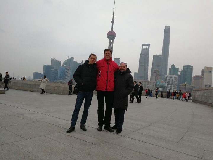 Sightseeing Shanghai