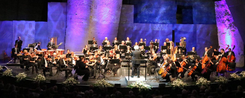 Felsentheater Sopron/Ungarn - Festakt 30 Jahre Grenzöffnung - 19.08.2019