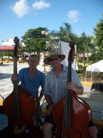 Soundcheck (Plaza del Cozumel, 42°C im Schatten)